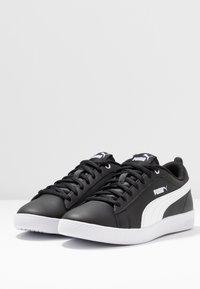 Puma - SMASH - Baskets basses - black/white - 4