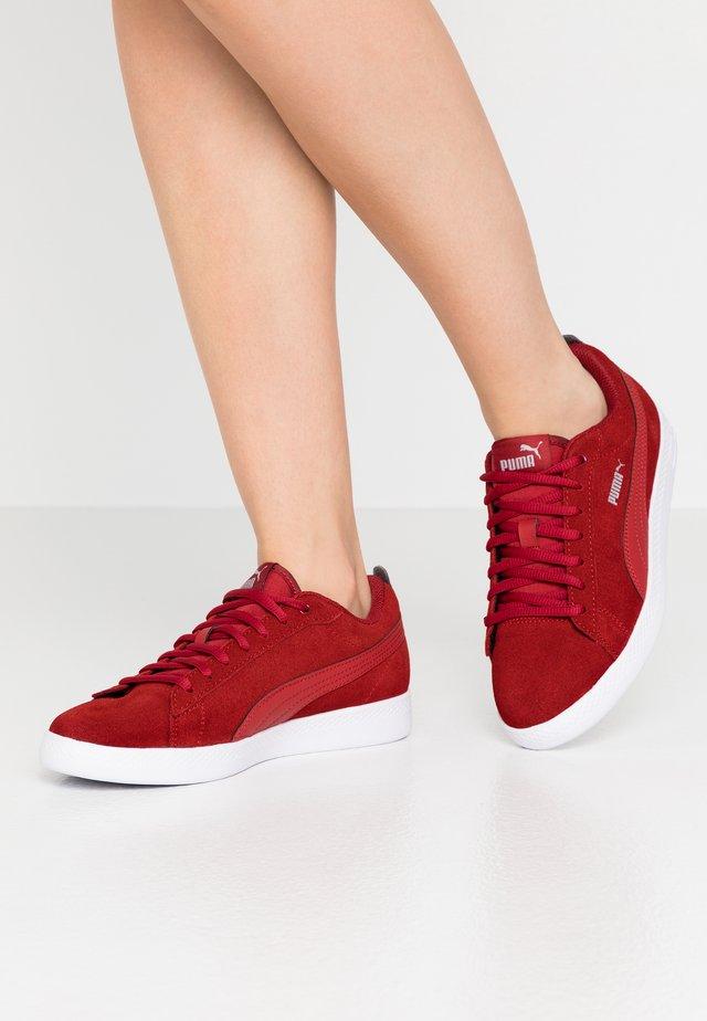 SMASH - Sneakers - red dahlia/silver/white