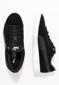 Puma - SMASH - Baskets basses - black - 3