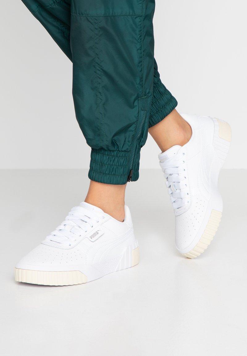 Puma - CALI - Baskets basses - white/whisper white