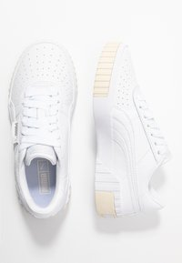 Puma - CALI - Sneaker low - white/whisper white - 3
