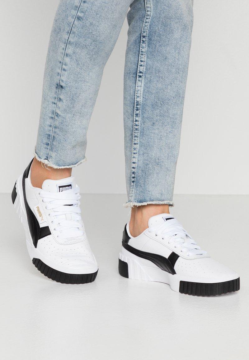 Puma - CALI - Baskets basses - white/black