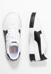 Puma - CALI - Sneaker low - white/black - 3