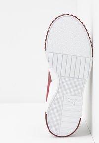 Puma - CALI - Baskets basses - white/burnt russet - 6