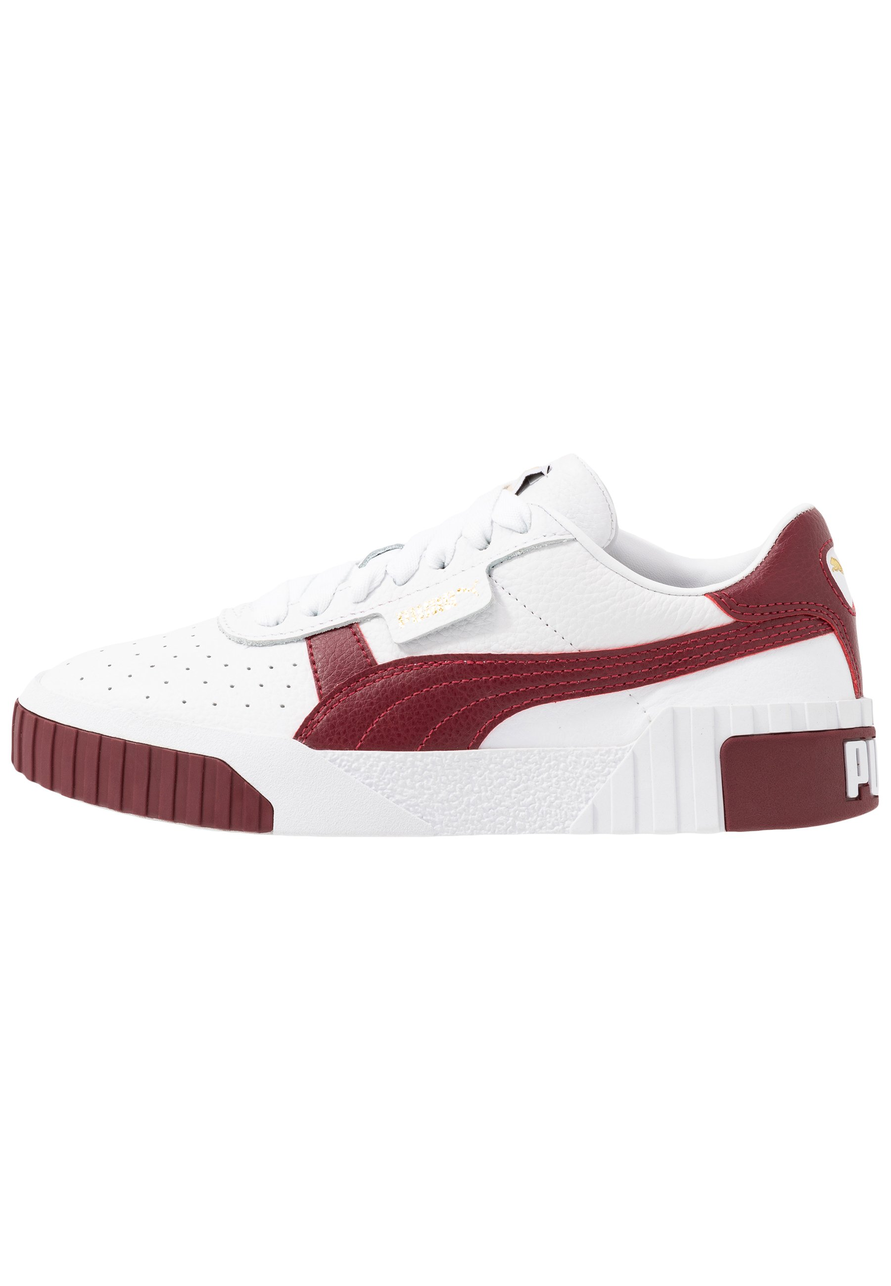 Puma Cali - Sneakers White/burnt Russet