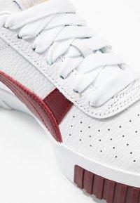 Puma - CALI - Baskets basses - white/burnt russet - 2