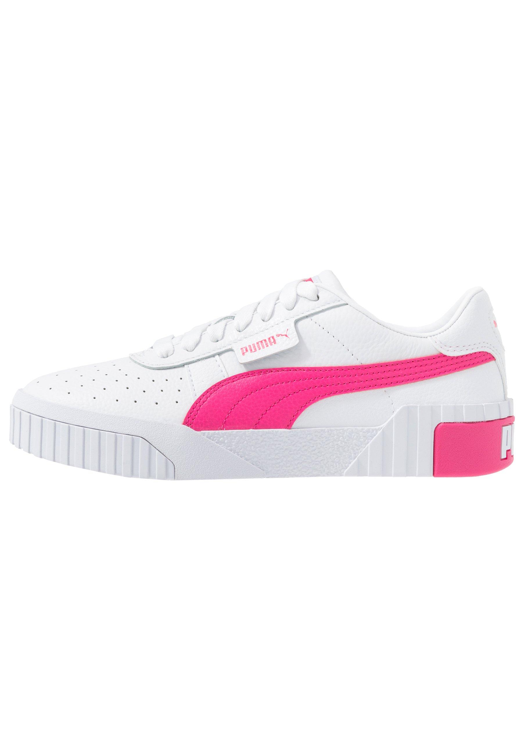 Puma CALI Sneaker low whiteglowing pink