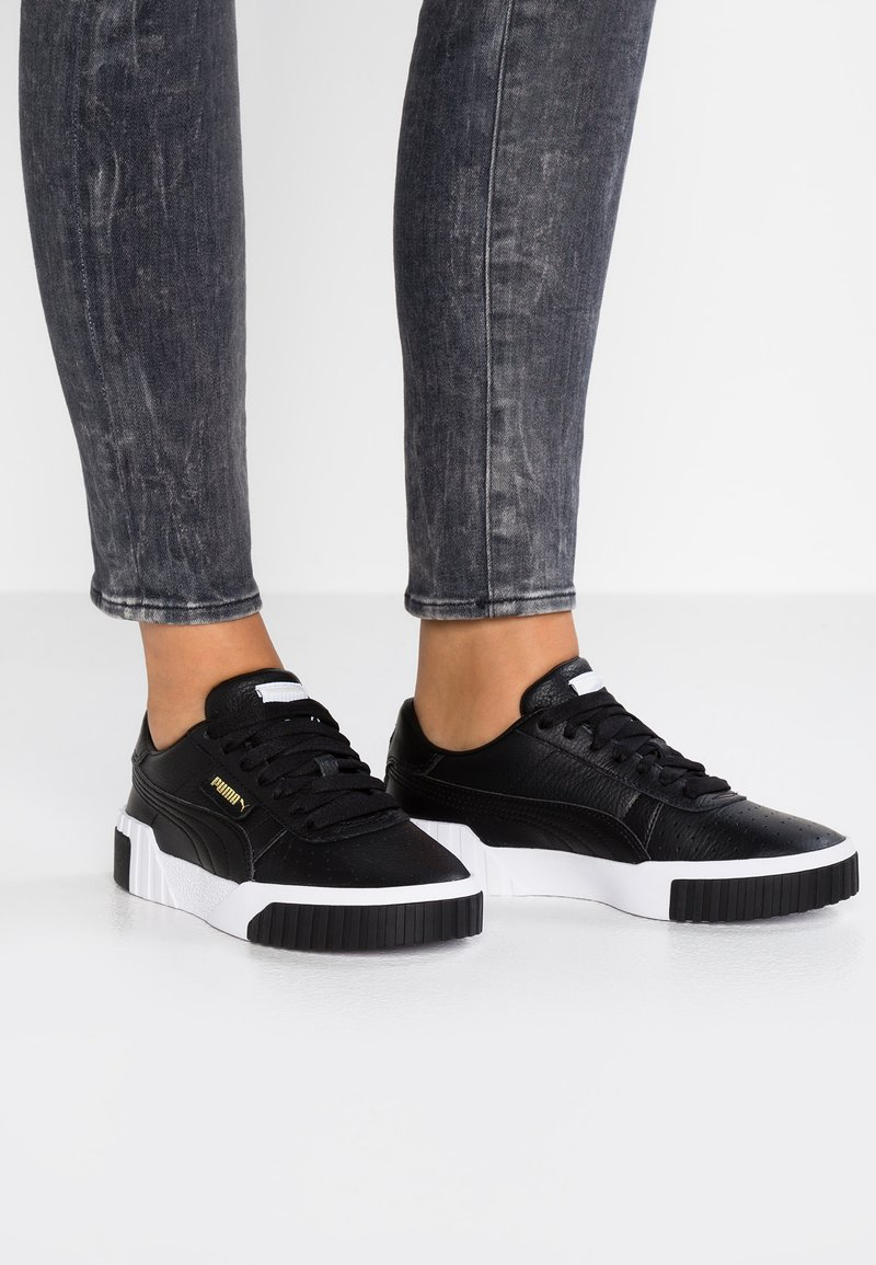 Puma - CALI - Sneakers laag - black/white