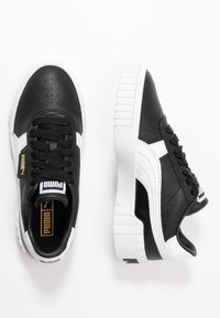 Puma - CALI - Baskets basses - black/white - 3
