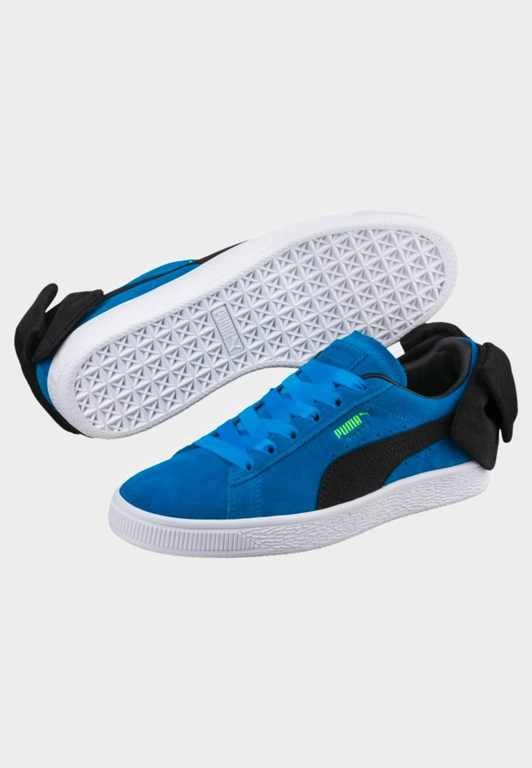 BlockBaskets Blue Basses Plat Bow Puma black 1JTlc3uF5K