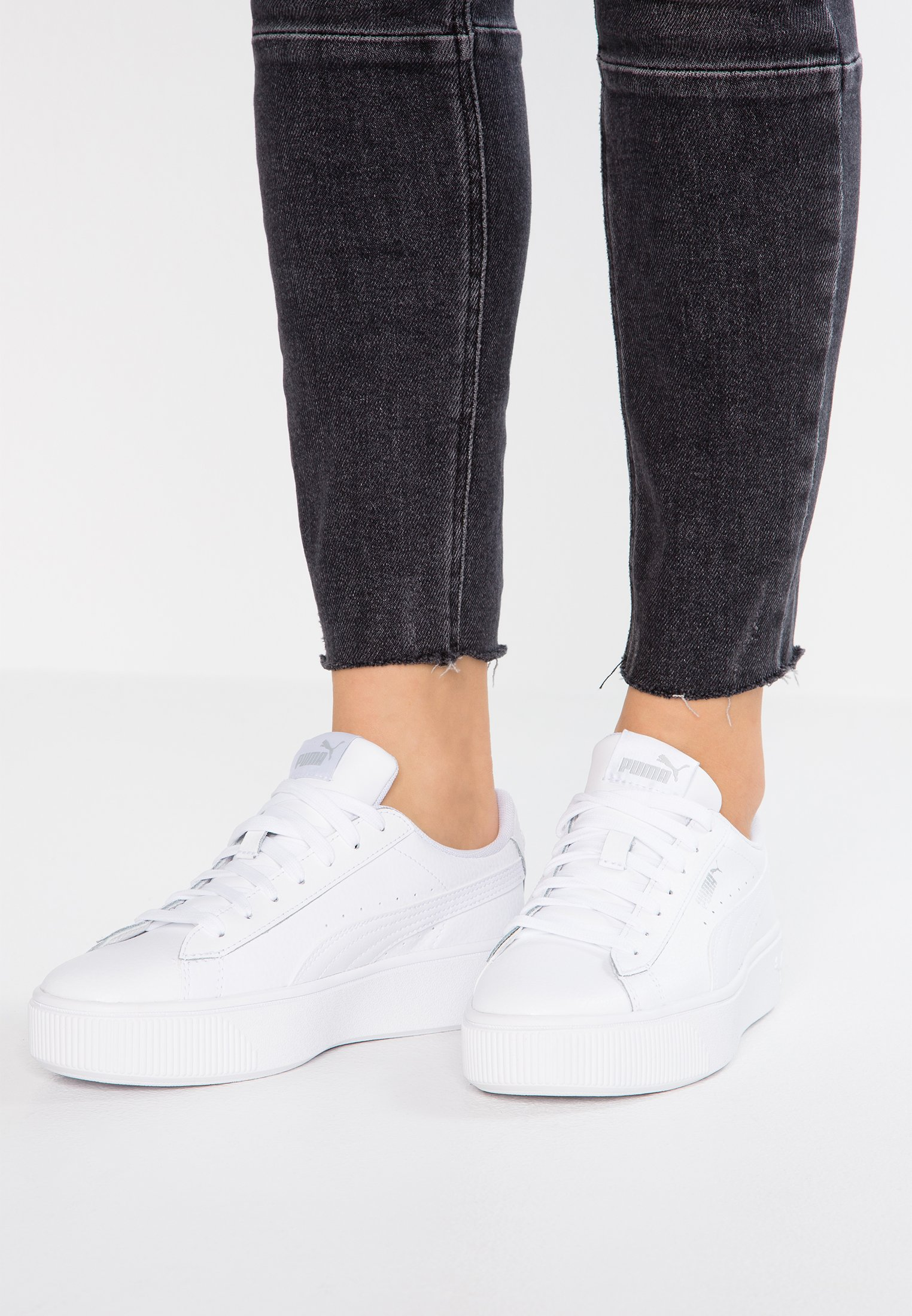 VIKKY STACKED Sneakers basse white