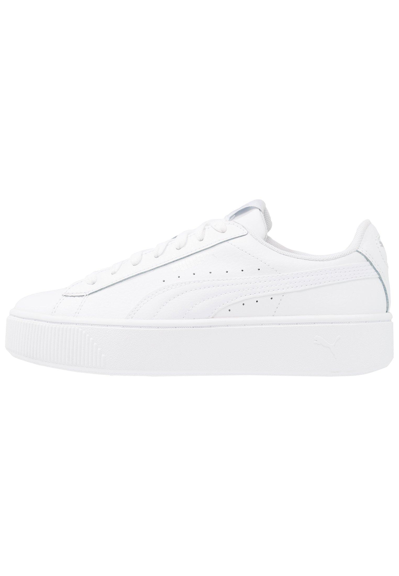Puma VIKKY STACKED - Sneakersy niskie - white