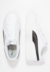 Puma - VIKKY STACKED - Sneakersy niskie - white/black - 3
