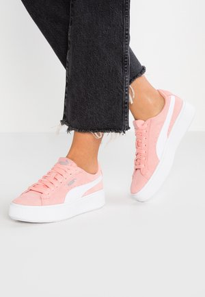 VIKKY STACKED - Trainers - peach bud/white