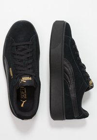 Puma - VIKKY STACKED - Sneakers basse - black - 3