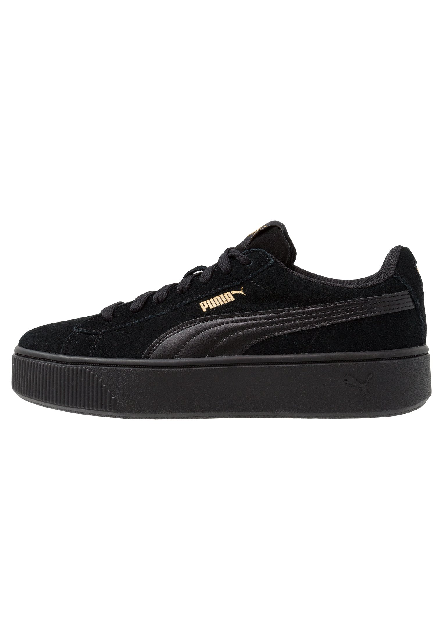 VIKKY STACKED Sneakers laag black