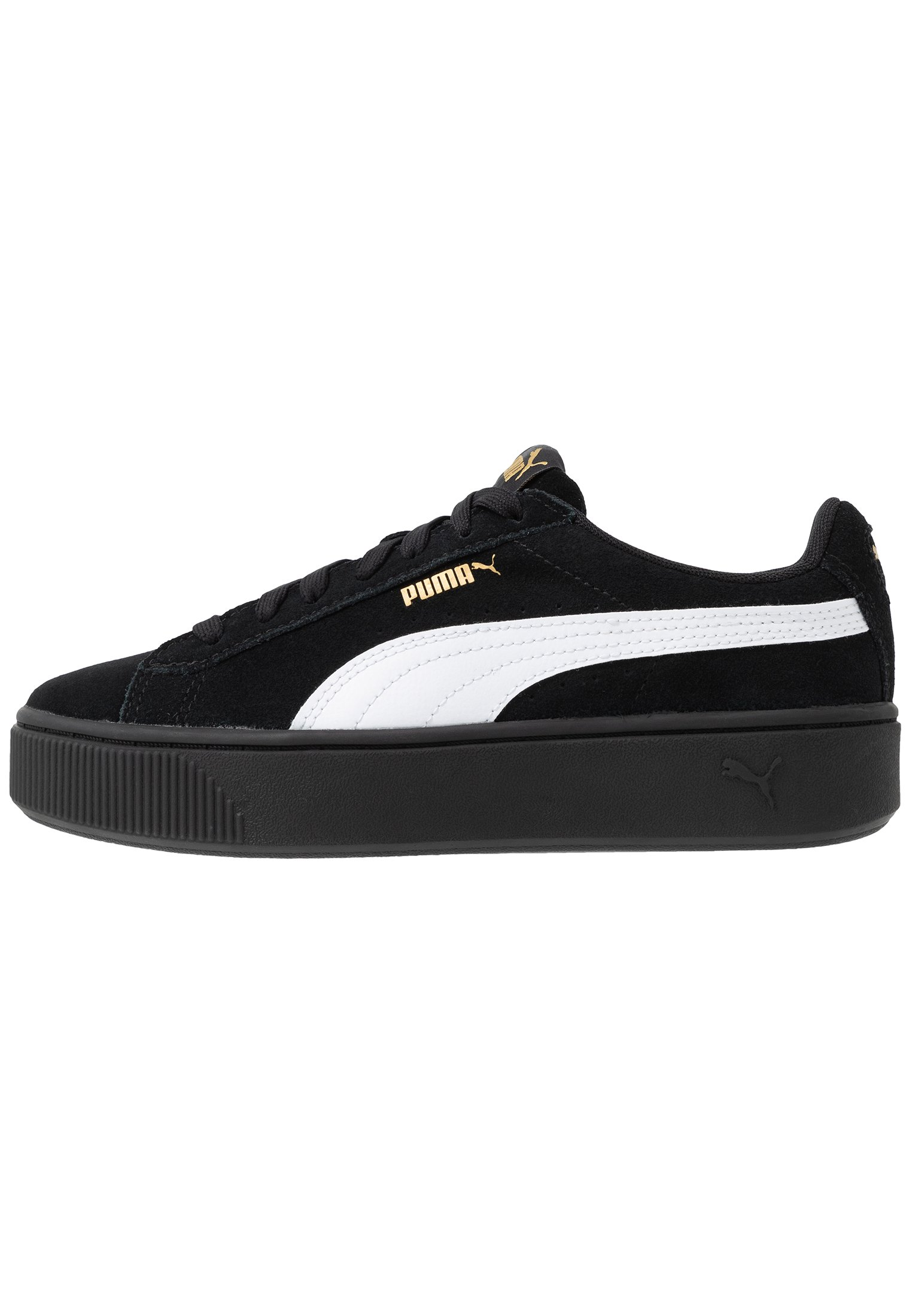 Puma Vikky Stacked - Joggesko Black/white