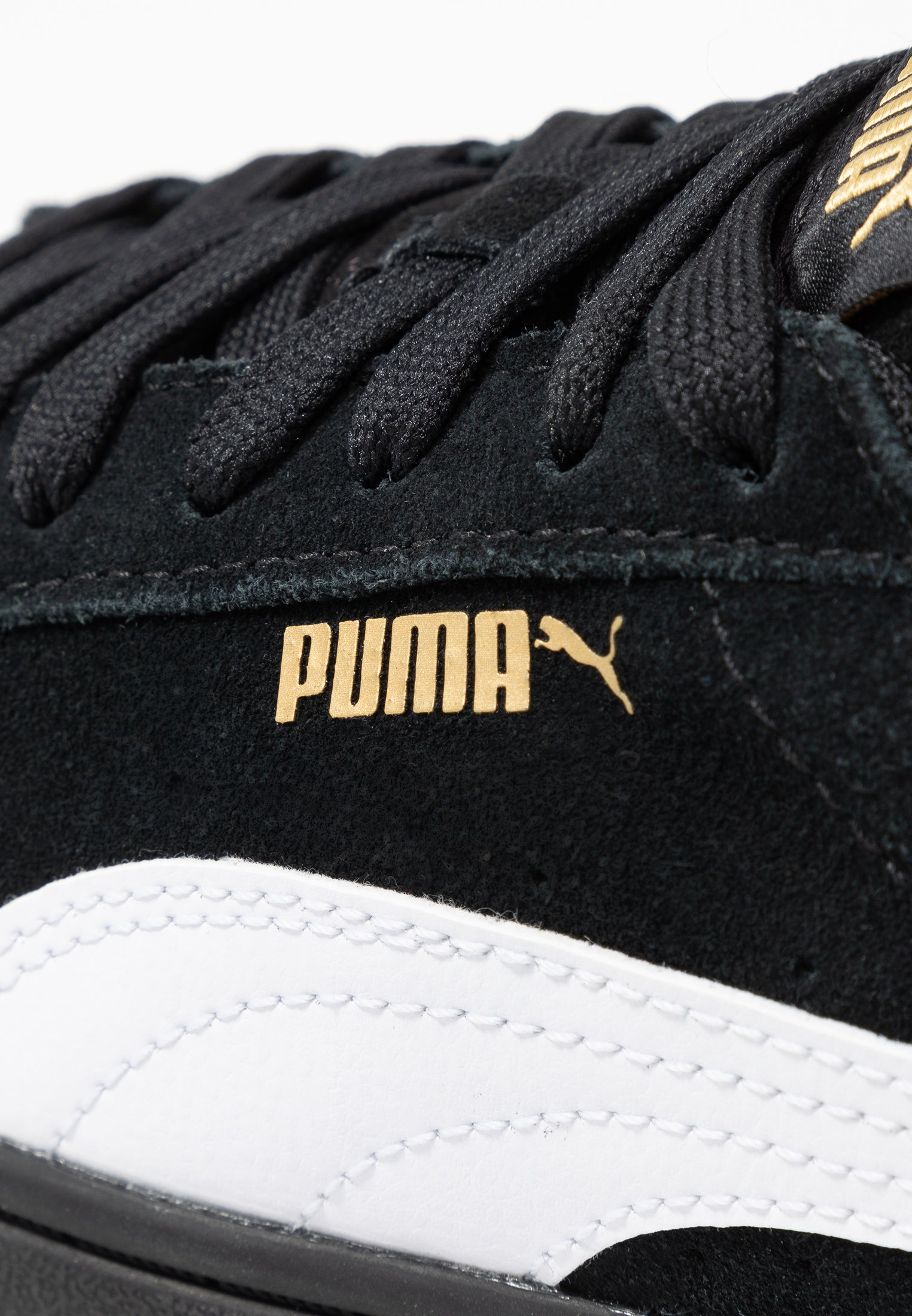 Puma VIKKY STACKED - Sneakersy niskie - black/white