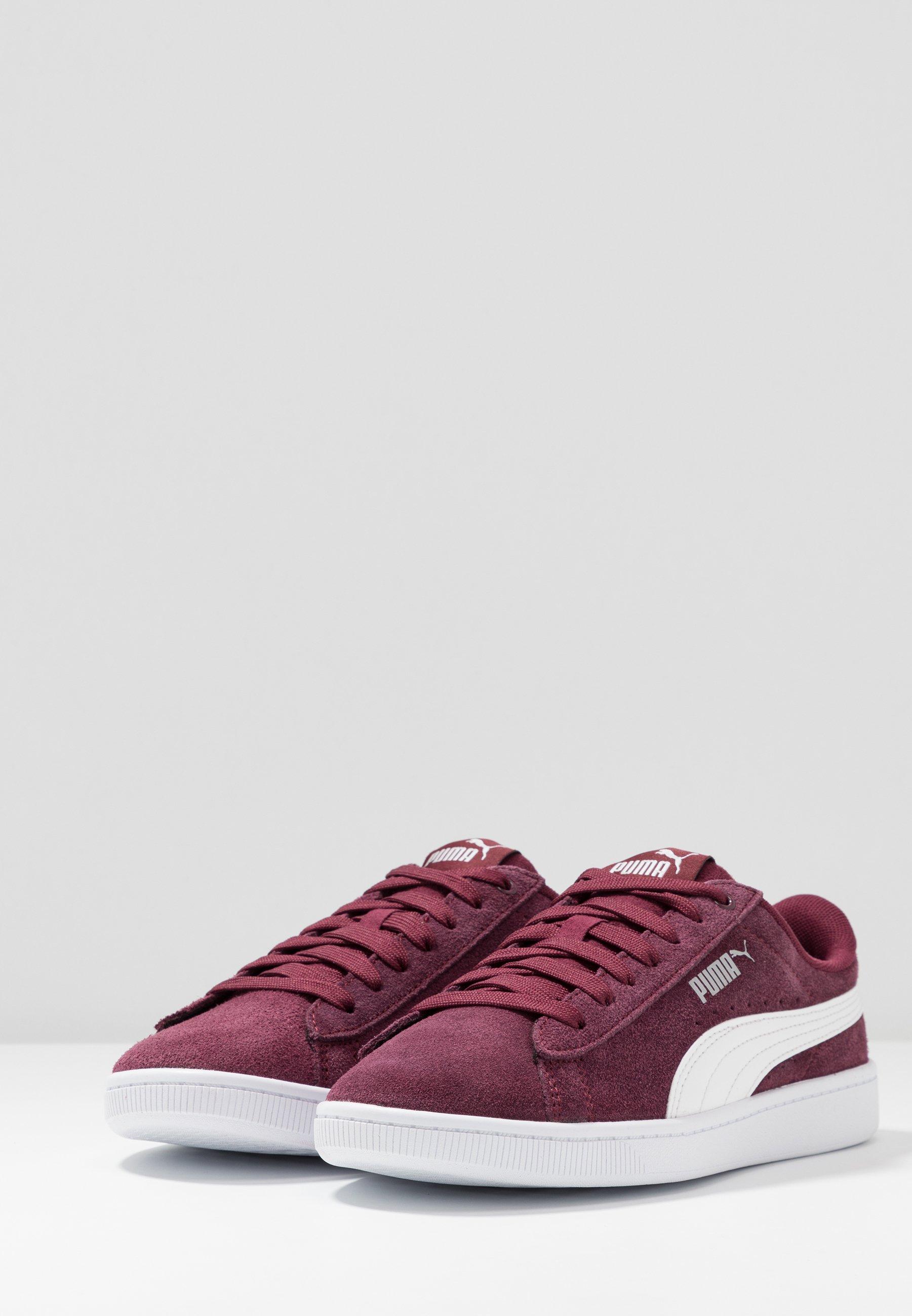 Puma VIKKY Sneaker low burgundywhitesilver