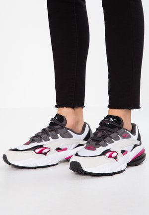 CELL  - Joggesko - white/fuchisa purple
