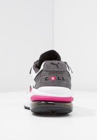 Puma - CELL  - Sneakersy niskie - white/fuchisa purple - 5
