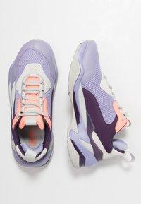 Puma - THUNDER FASHION - Sneakersy niskie - sweet lavender/bright peach - 5