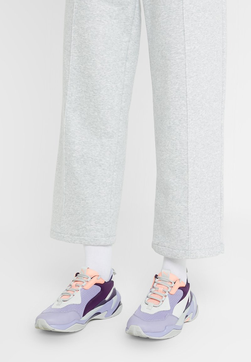 Puma - THUNDER FASHION - Sneakersy niskie - sweet lavender/bright peach