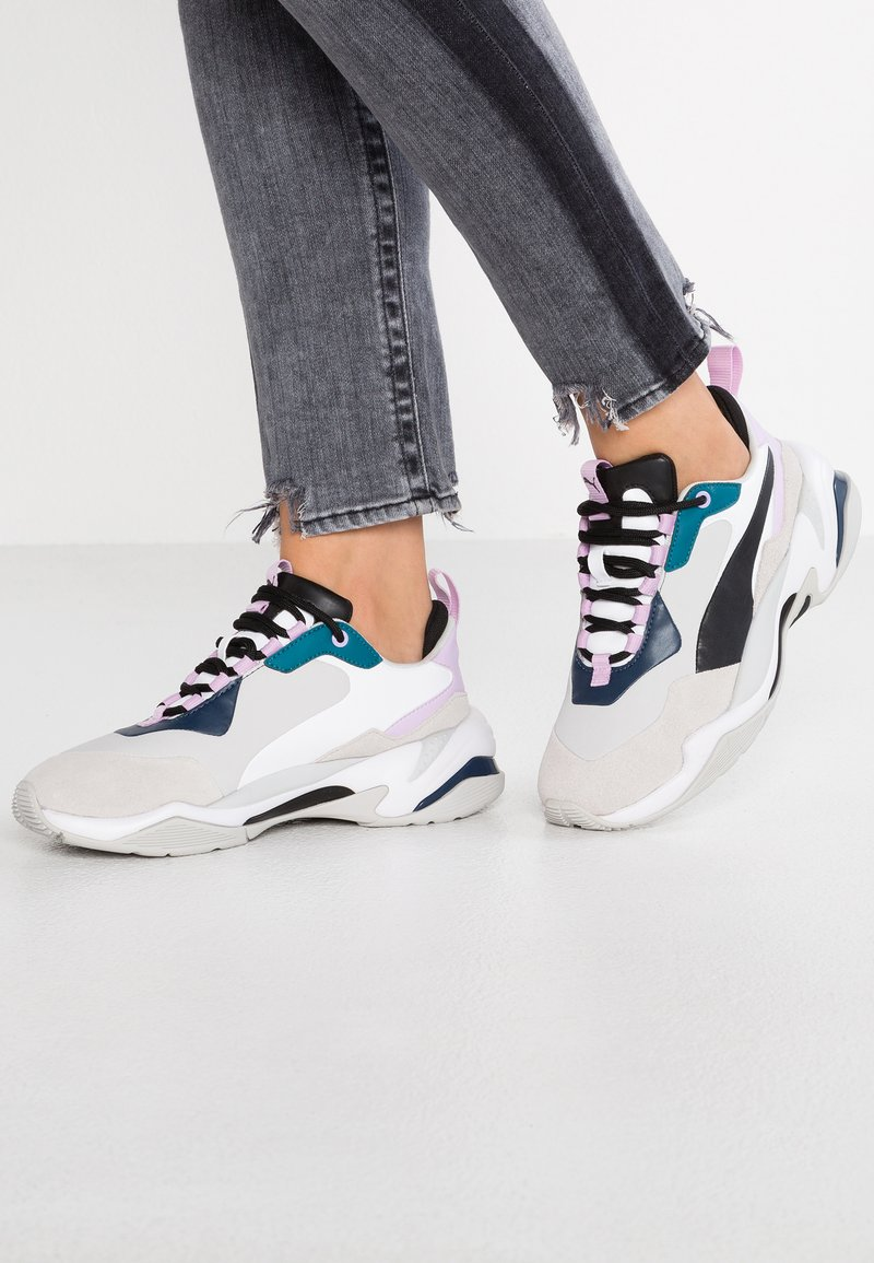 Puma - THUNDER RIVE DROITE - Sneakersy niskie - deep lagoon/orchid bloom