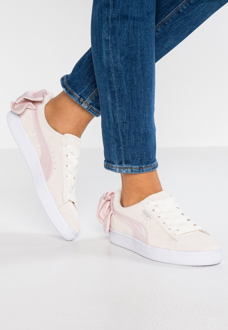 Puma - BOW  - Slip-ons - marshmallow/pale pink