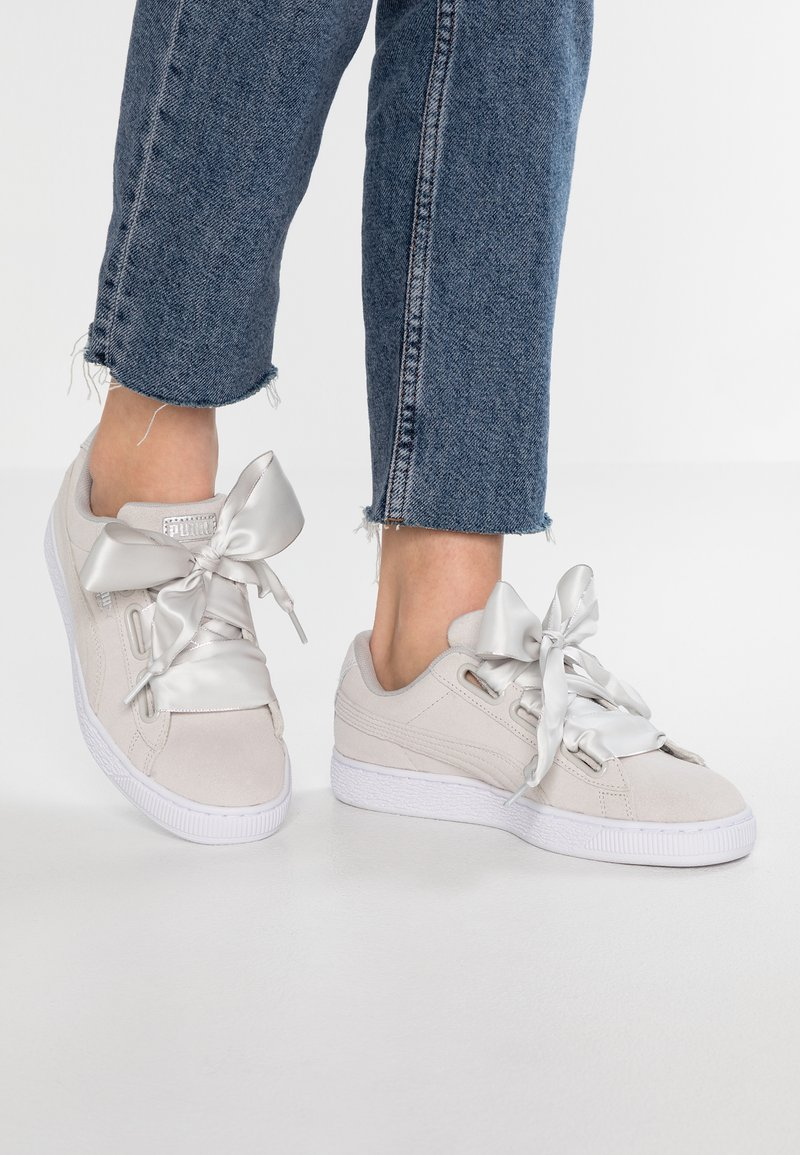 Puma - HEART GALAXY - Trainers - gray violet/pale pink
