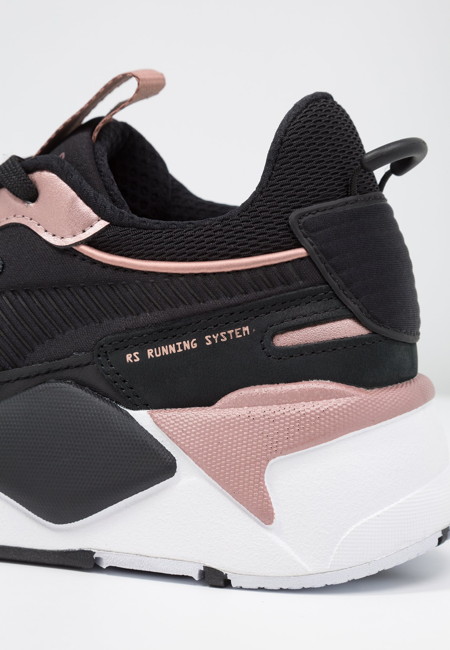 RS X TROPHY - Sneakers laag - black/rose gold