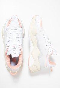 Puma - RS X TEC - Zapatillas - white/peach bud - 3