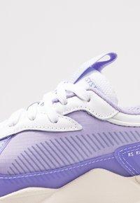 Puma - RS X TEC - Baskets basses - white/sweet lavender - 2