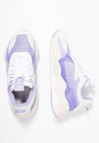 Puma - RS X TEC - Baskets basses - white/sweet lavender - 3