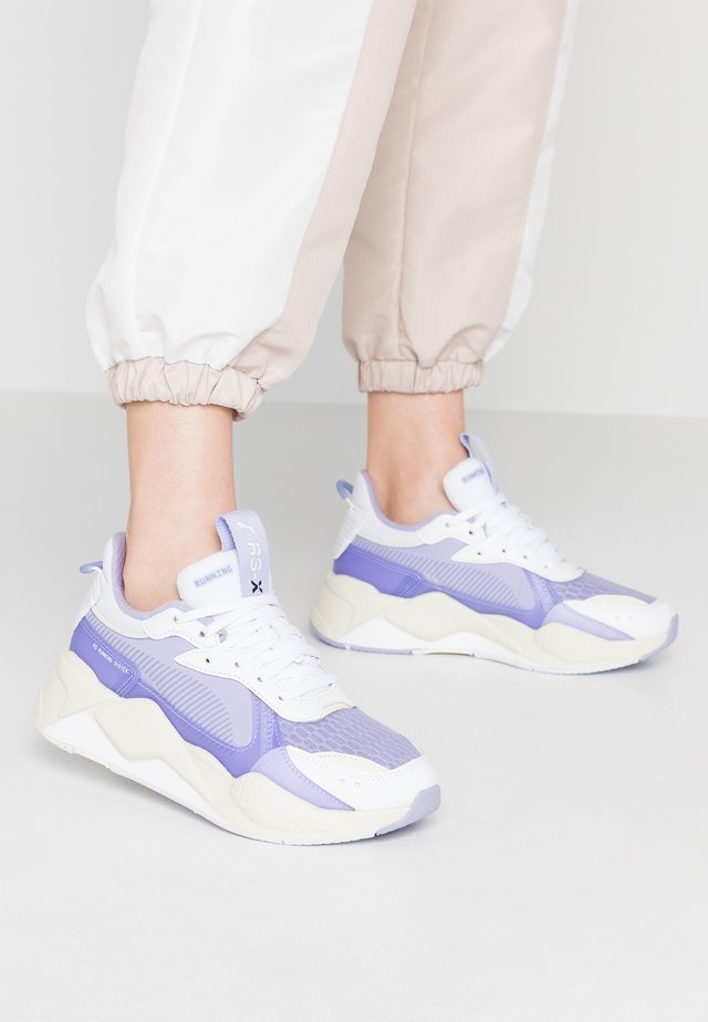 RS X TEC - Sneakers laag - white/sweet lavender