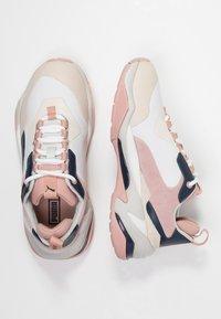 Puma - THUNDER RIVE GAUCHE - Sneakers - dress blues/peach beige - 3