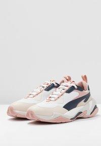 Puma - THUNDER RIVE GAUCHE - Sneakers - dress blues/peach beige - 4