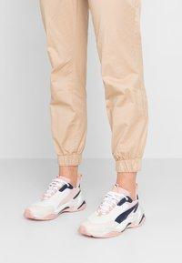 Puma - THUNDER RIVE GAUCHE - Sneakers - dress blues/peach beige - 0
