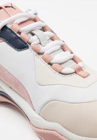 Puma - THUNDER RIVE GAUCHE - Sneakers - dress blues/peach beige - 2