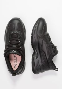 Puma - CILIA - Baskets basses - black - 3