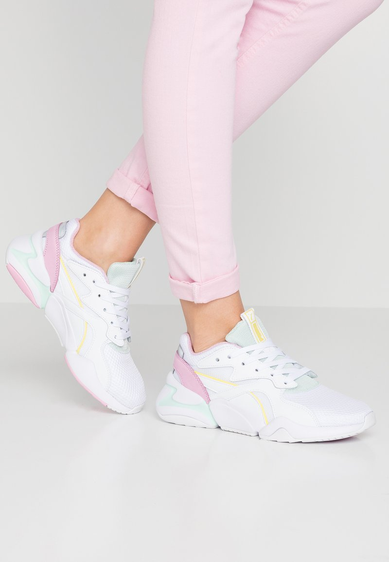Puma - NOVA - Trainers - white/fair aqua