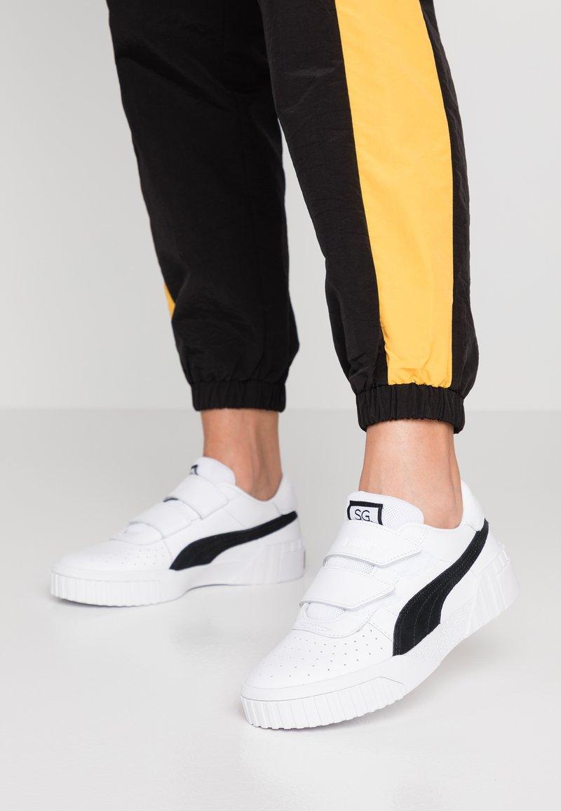 Puma - CALI - Sneaker low - white/black