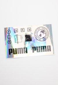 Puma - CALI X SG - Platform sandals - soft fluo yellow/white - 7