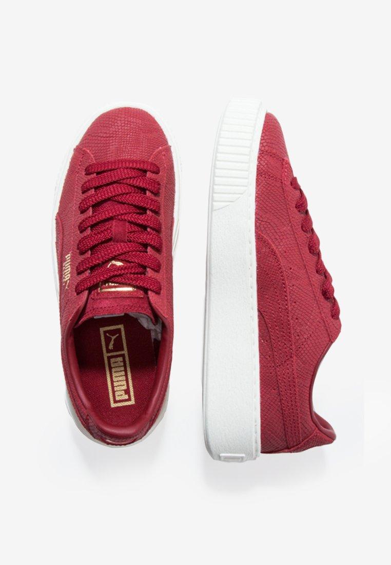 Puma Platform Euphoria - Sneaker Low Red Black Friday qi00DZWS