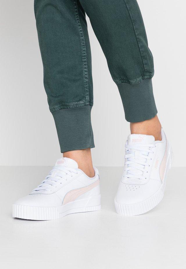 CARINA  - Sneakers - white/rosewater