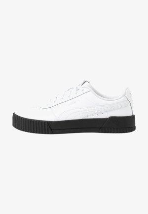 CARINA  - Trainers - white/black/silver