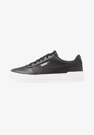 CARINA  - Sneakers laag - black/white/silver