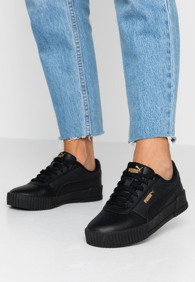 CARINA  - Sneakers - black/team gold