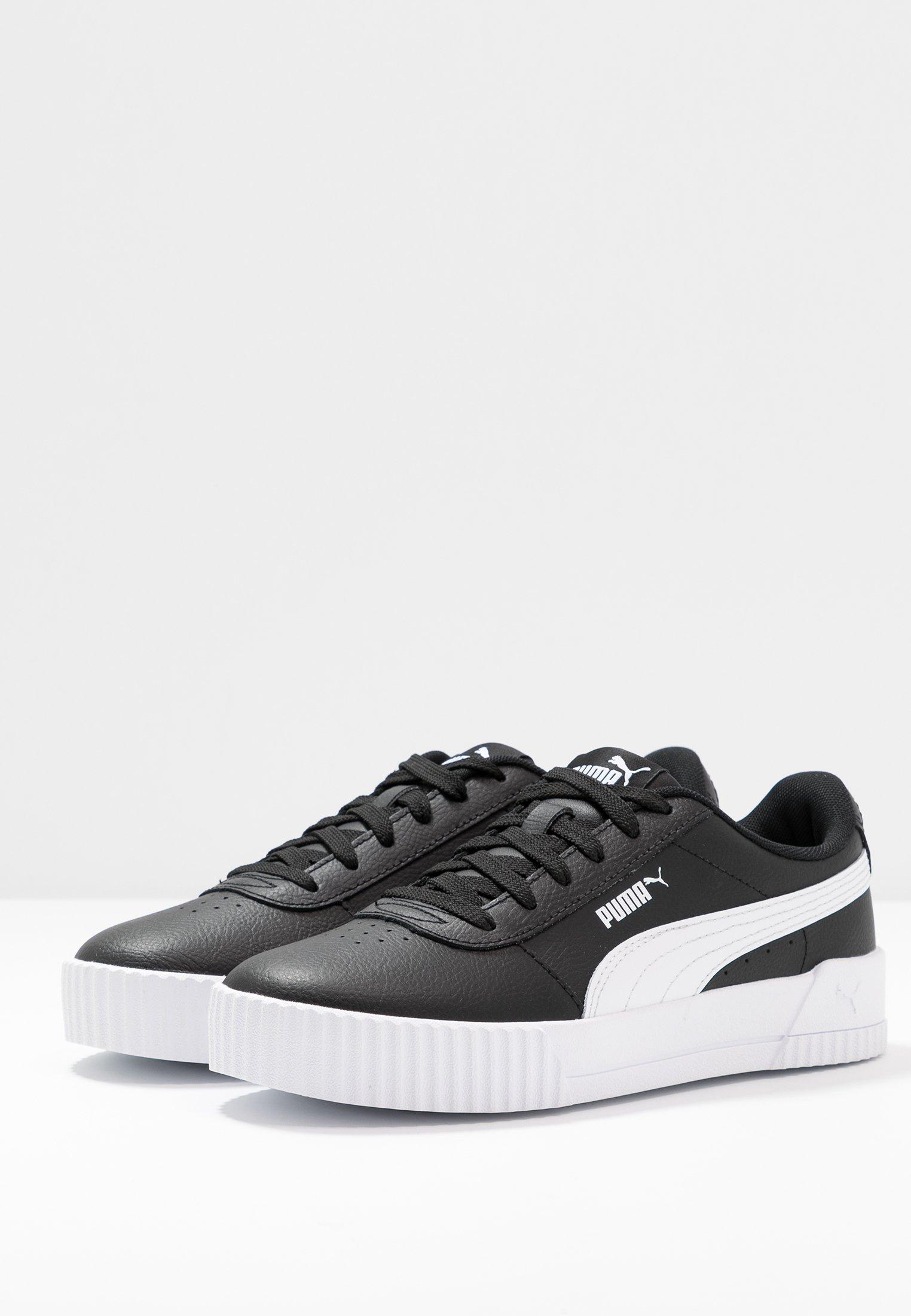 CARINA - Sneakers laag - black/white