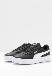 Puma - CARINA  - Sneakersy niskie - black/white - 4